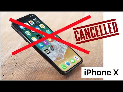 iPhone X cancelled