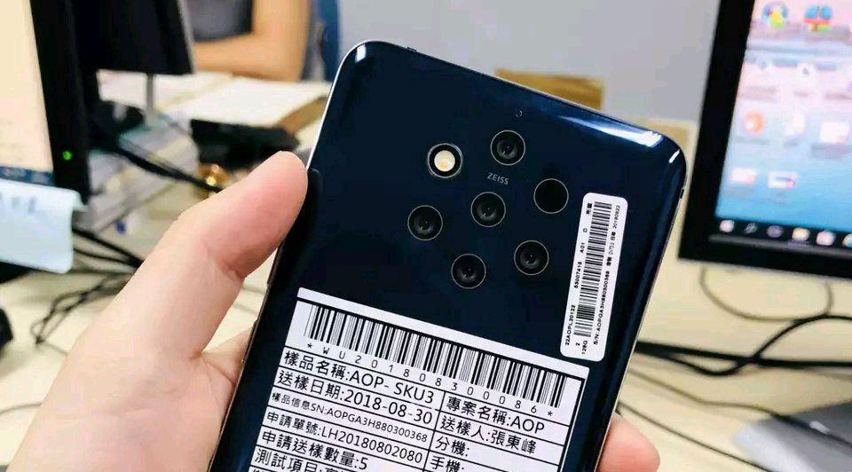 Nokia 9 with Penta-camera reportedly scheduled for a 2019 release