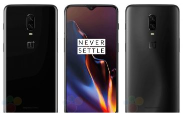 Here's what the OnePlus 6T would look like