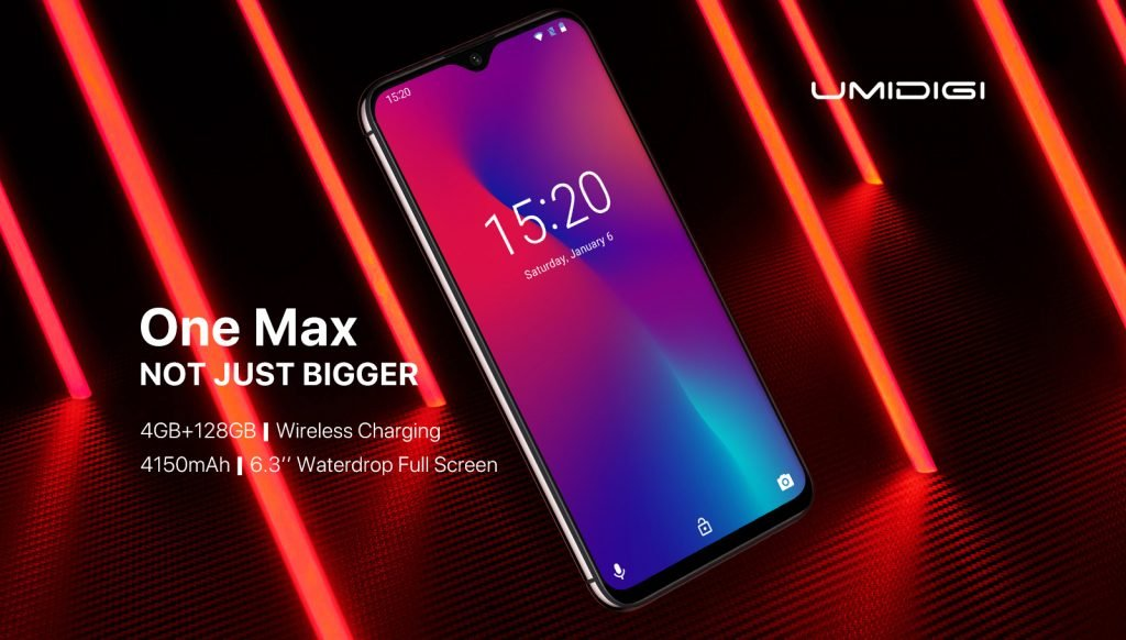 UMIDIGI One Max launched with 6GB RAM and 92% Screen Ratio