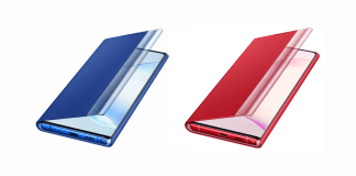 New colour options for the Galaxy Note 10 leak in new renders