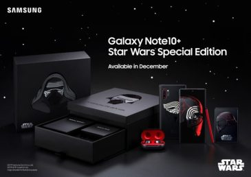 Star Wars-Themed Galaxy Note 10 Plus Comes with Many Freebies