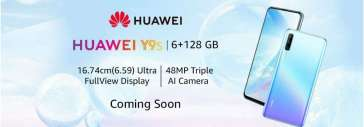 Huawei may launch its Y9s smartphone in India soon.