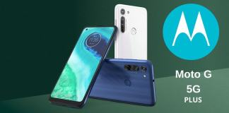 Moto G 5G Plus renders leak; to feature Snapdragon 765G SoC and 5,000mAh battery.