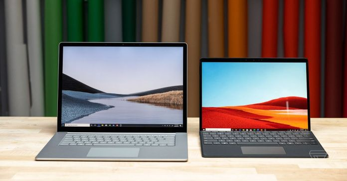 Microsoft announces the Surface Laptop 3 and Surface Pro 7 in South Africa.