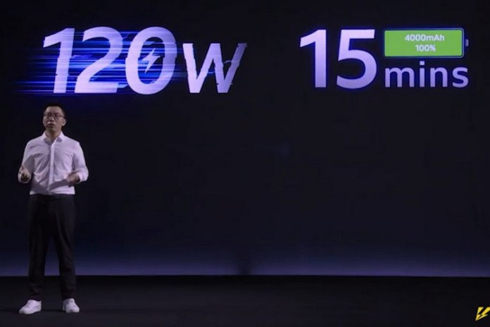 iQOO unveils the world's first 120W ultra-fast charging technology.
