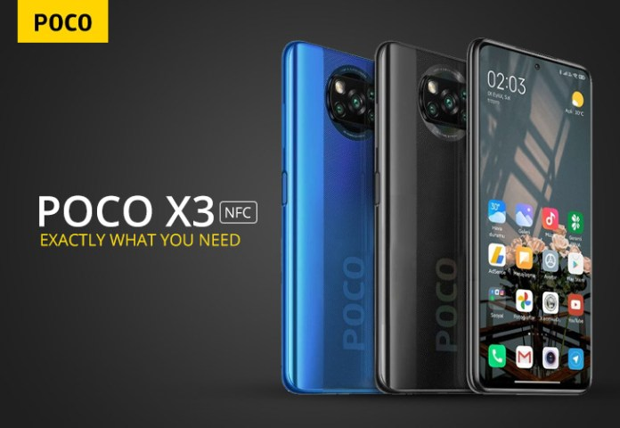 Camera details of the POCO X3 NFC revealed ahead of launch.