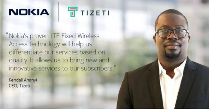 Nokia Joins Forces with Tizeti to Widen the Range of Its LTE Network in Nigeria