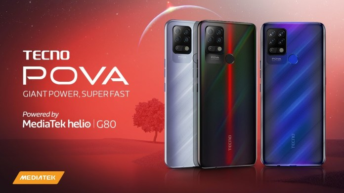 Tecno Pova Mid-Range Gaming-Focused Smartphone Launches in India for Rs 9,999 (~$135)