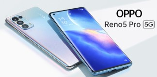 Pre-order posters, Specifications, and Pricing Details of the OPPO Reno5 Pro 5G for India Leaks