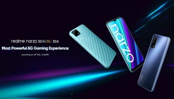 Realme Narzo 30 Pro 5G to Arrive India as the Cheapest 5G Smartphone