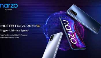 Realme Narzo 30 Pro 5G Launched alongside the Narzo 30A as the most affordable 5G handset in India