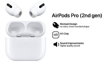 Leaked Images Suggest that the AirPods Pro 2 would Feature a Light and Compact Design