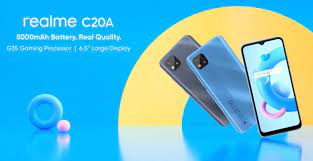 Design and a Few specifications of the Realme C20A surfaces ahead of launch