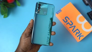 Tecno launches improved Spark 8 with better camera, chipset and battery