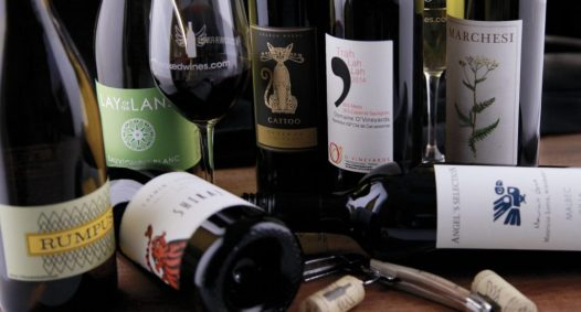 an assortment of nakedwines.com wines