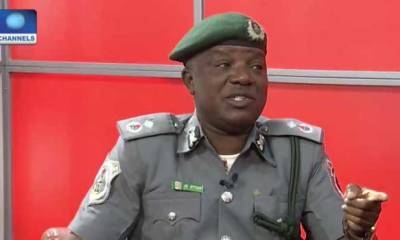 smuggled items Nigerian duty commands