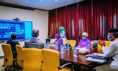VP Osinbajo chaired 1st virtual meeting of the National Economic Council today, where firm decisions were taken to take FG & States collaboration on the COVID-19 pandemic including its economic dimensions to the next level. We also had the first virtual press