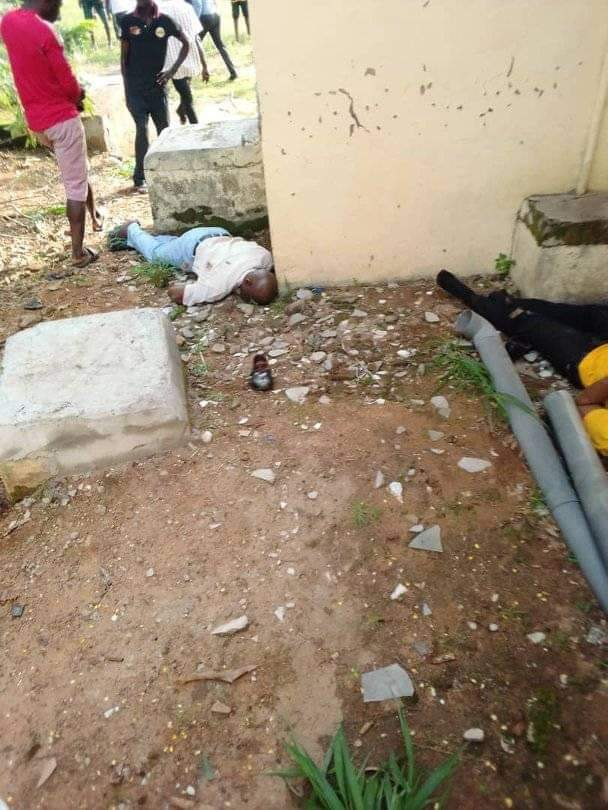 People Hiding for their Lives were Killed around the Bank Premises - Isanlu Kogi State Robbery