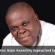 Speaker of Imo State Assembly Impeached by Lawmakers