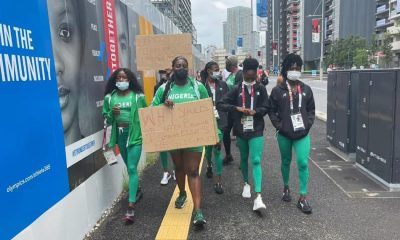 Nigerian Athletes Protest in Tokyo After Disqualification of 10 Among Them