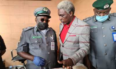 Customs, NDLEA, DSS Discover 74.119kg Captagon Pills From Dismantled Machine in Apapa Port