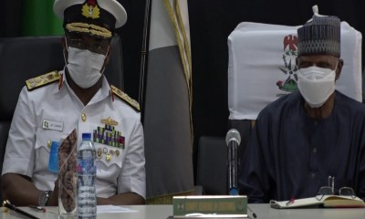 Chief of Naval Staff Pays Courtesy Visit to Customs Headquarters