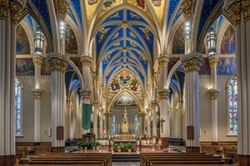Image result for university of notre dame basilica