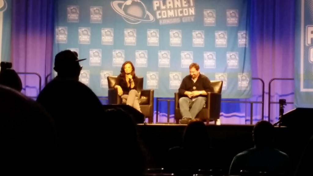 Ming-Na Wen at Planet Comicon