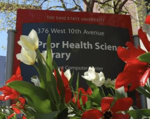 Ohio State University Prior Health Sciences sign