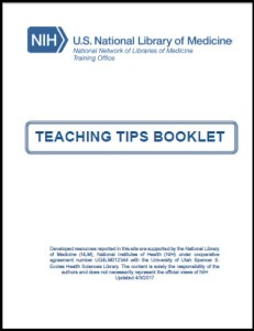 Image of cover of Teaching Tips Booklet