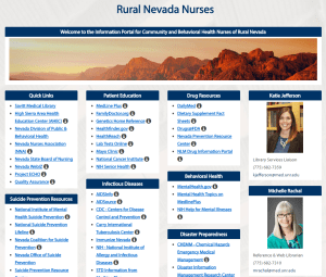 Rural Nevada Nurses libguide