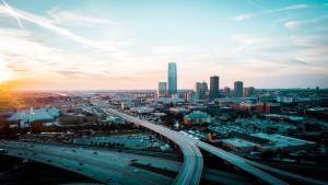 Photo of downtown Oklahoma City