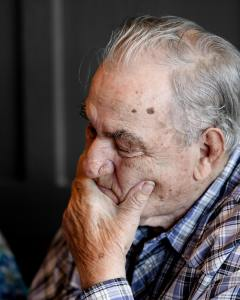 Picture of an elderly man