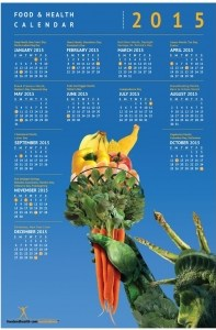 2014 Health Calendar Poster