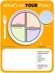 Erasable School Lunch Menu Poster for new school lunch program
