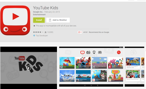 youtubeforkid-android