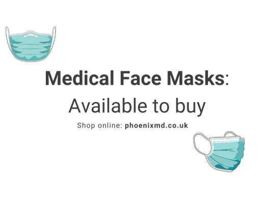 Medical Face Masks Back in Stock