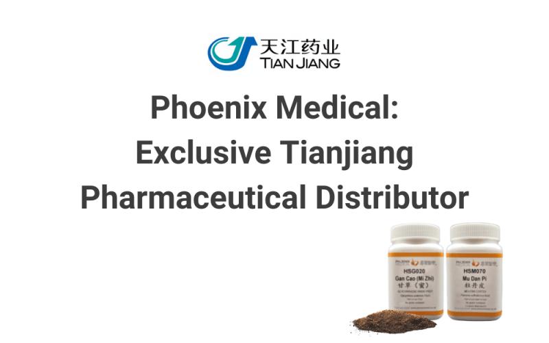 Phoenix Medical: Exclusive Tianjiang Pharmaceutical Distributor