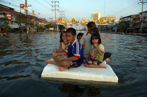 TOPSHOTS-THAILAND-WEATHER-FLOOD