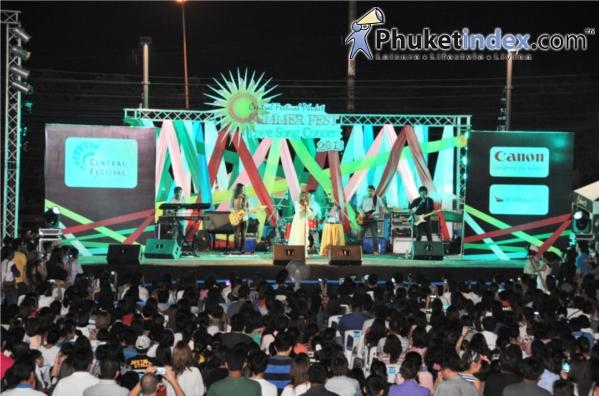 """มหกรรมคอนเสิร์ตเพลงรัก """"Central Festival Phuket Summer Fest Love Song 2013"""""""
