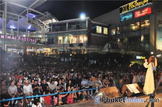Central Festival Phuket Summer Fest Love Song 2013