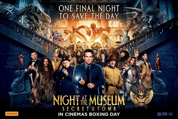 Phuket Now Showing – Night at the Museum : Secret of the Tomb