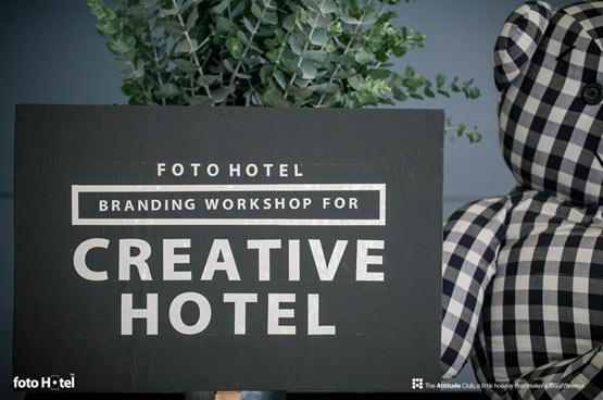 "Foto Hotel จัดกิจกรรม ""Branding Workshop for Creative Hotel"""