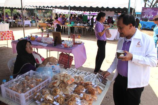 พัฒนาชุมชนจังหวัดภูเก็ตจัดโครงการตลาดนัดชุมชนไทยช่วยไทย คนไทยยิ้มได้ ครั้งที่ 1