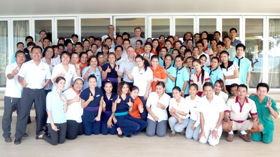 Amari Phuket's town hall meeting 2015