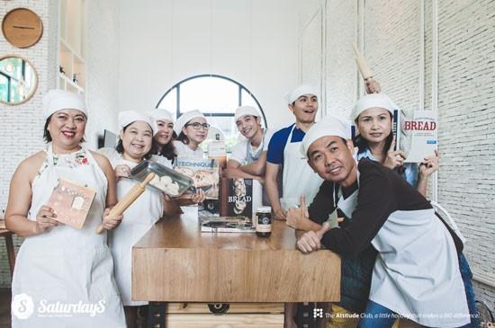 เซทเทอร์เดย์ เซอร์วิส เรสสิเดนส์ จัดกิจกรรมสร้างแรงบันดาลใจให้กับผู้ที่รักการทำขนมปัง โฮมเมด