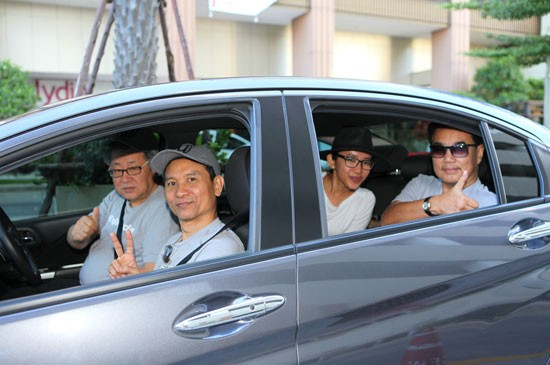 Safe driving for fun with Honda City and Honda Jazz