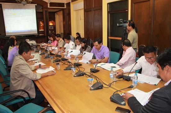 ประชุมจัดทำแผนปฏิบัติการป้องกันและแก้ไขปัญหายาเสพติด