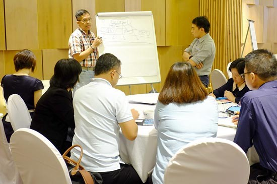 "สัมมนาทางการแพทย์ เรื่อง ""Quality / Outcome Leadership Training for Medical Leadership of Group 6 (Southern Group)"""
